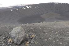 kráter sopky Hverfjall