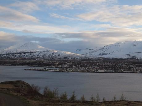 pohled na Akureyri
