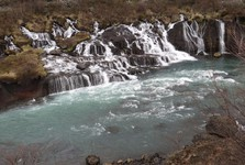 vodopád Barnafoss