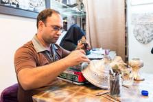 řemeslníci v Isfahánu