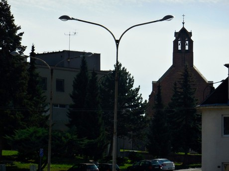Adamov – kostel svaté Barbory