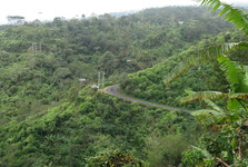 the landscape of northern Bali