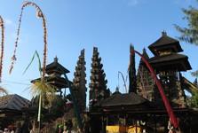 nejvýše položený chrám na Bali – Pura Tegeh Koripan