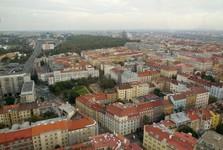 Praha – žižkovská věž (panoráma)