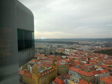 Prague – the Zizkov Tower (panorama)