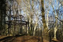 anglický park v Rusovciach (altánok)