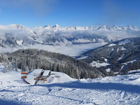 pohled z hory Grosser Asitz