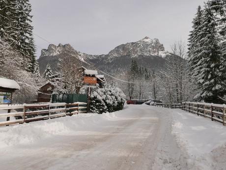 дорога к горе Вельки-Розсутец