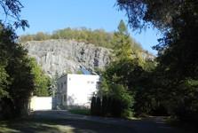 close guarded military facility