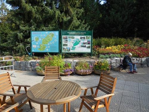 Ботанический сад г. Праги (вход)