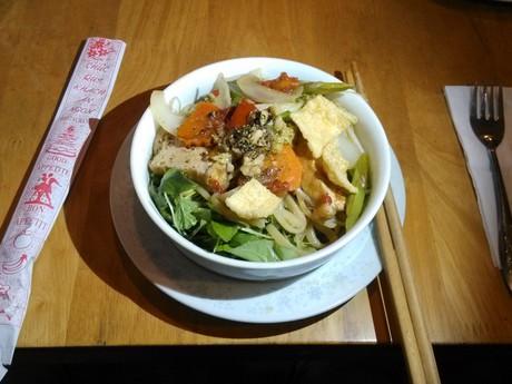 výborné vietnamské jídlo