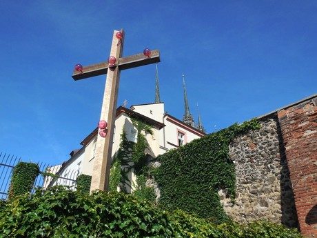 the cross – a symbol of  Benedict XVI's visit