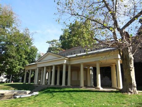 colonnade style summer gazebo