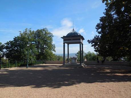 Spilberk – a gazebo and a castle replica