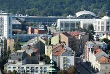 the vista of Brno from Spilberk – exhibition grounds