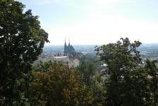 the vista of Brno from Spilberk