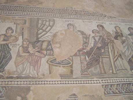 podlahové mozaiky