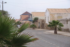 a street on Sal islan