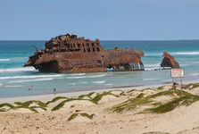 famous Cabo-Verde shipwreck