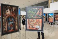 fotografická výstava na letišti - foto: Libor Sváček