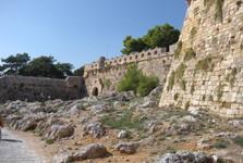Rethymno – vchod do pevnosti
