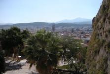 вид из крепости на Ретимнон
