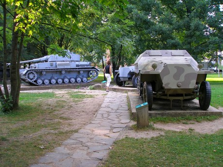 heavy  weapons in the open air