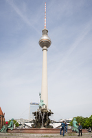 TV tower on Alexanderplatz
