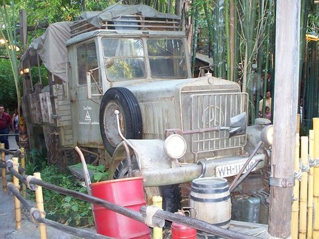 Mercedes-Benz, a prop used in one of the Indiana Jones movies
