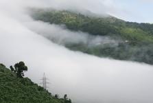valící se mlha