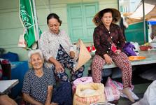 obyvatelia rybárskej dedinky