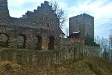 Klenová, starý hrad
