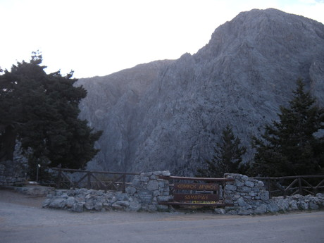 Xyloskalo – entryway to the gorge