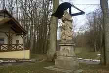 sv. Jan Nepomucký pod hradem Klenová