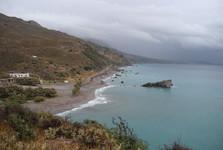 pobřeží v blízkosti Palmové pláže