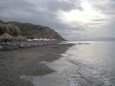 Agia Galini – pláž