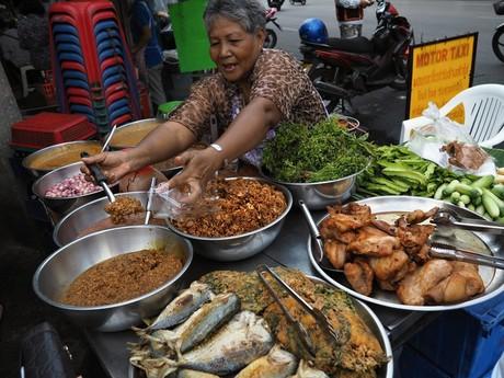 thajská jídla