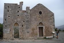 church at Phaistos palace