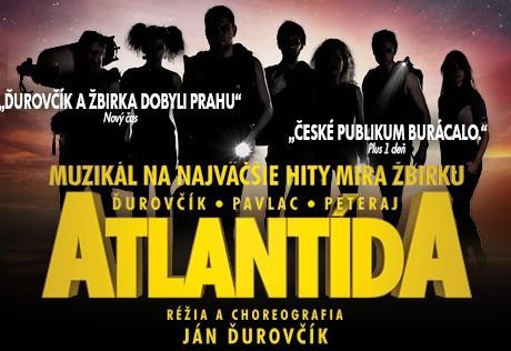 muzikál Atlantída