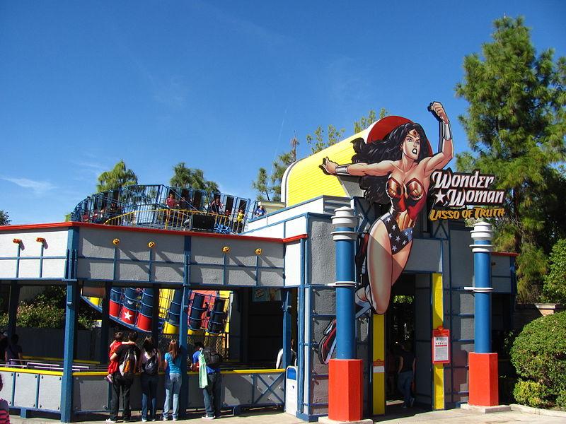 USA, California – Six Flags Magic Mountain II (en infoglobe cz)