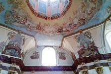 frescoes in the church, Dobra Voda