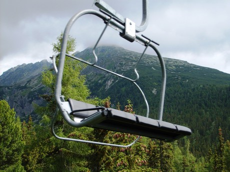cable car up to Solisko