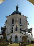 kostel na Zelené hoře, foto Lenka Houbová