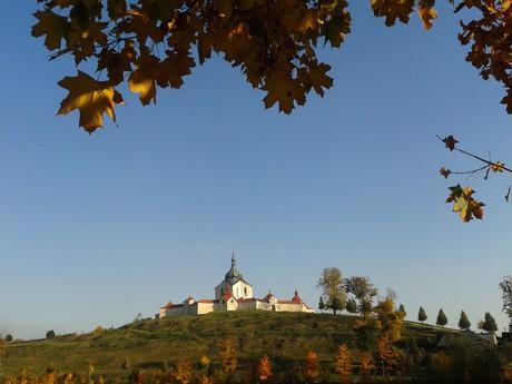 Зеленая Гора осенью, фотография Ленка Гоубова