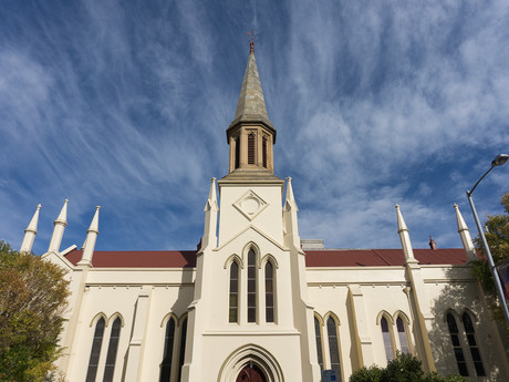 kostel v Launcestonu