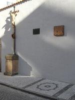 памятник Сантини в ул. Шпоркова в Праге