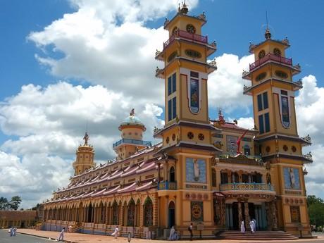 chrám v Tây Ninh