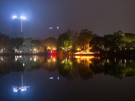 ночной Ханой
