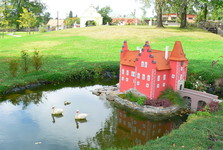 park miniatúr v záhrade  Berchtoldu