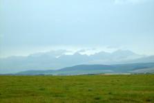 вид из Словацкого Рая (на заднем плане Высокие Татры)